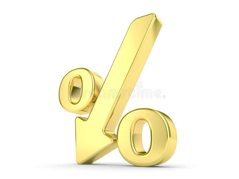 Download Gold Percentage Symbol Stock Photos - Image: 11080923