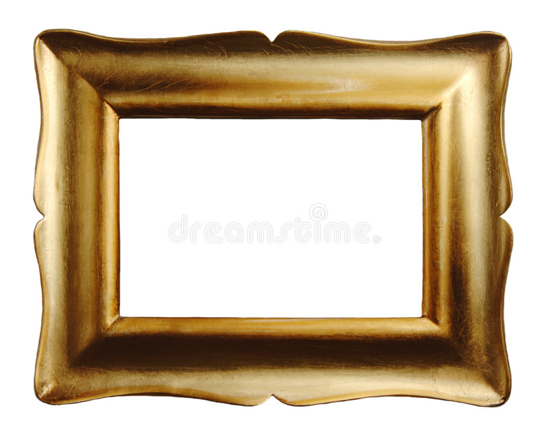 Download Gold Picture Frame stock image. Image of leaf, nobody - 9117937