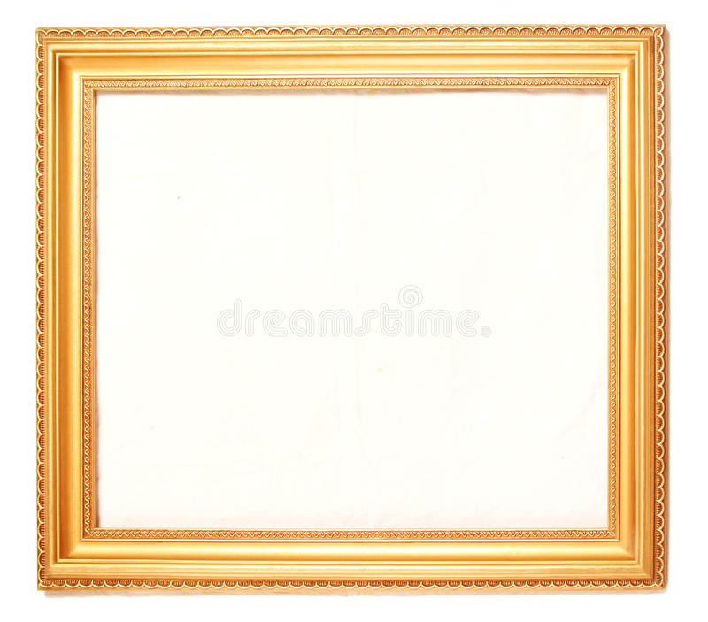 Download Gold picture frames stock photo. Image of paintings, classic - 18441778