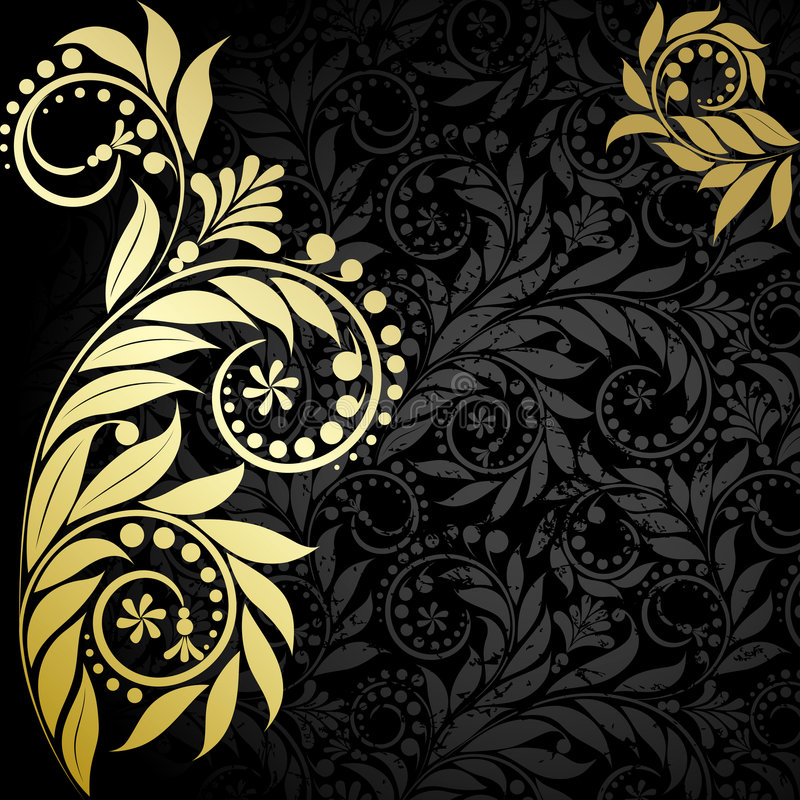 Download Gold  plant stock vector. Image of grass, beauty, vector - 8171298
