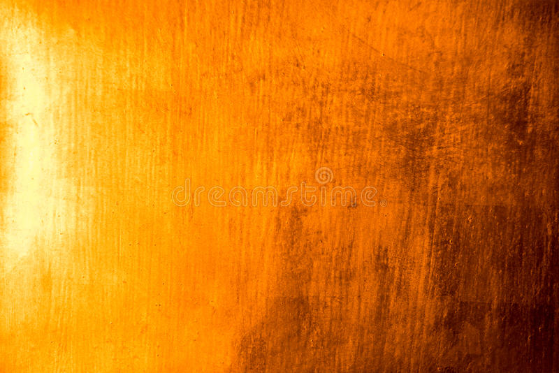 Gold plate Reflect light abstract texture and background royalty free stock image