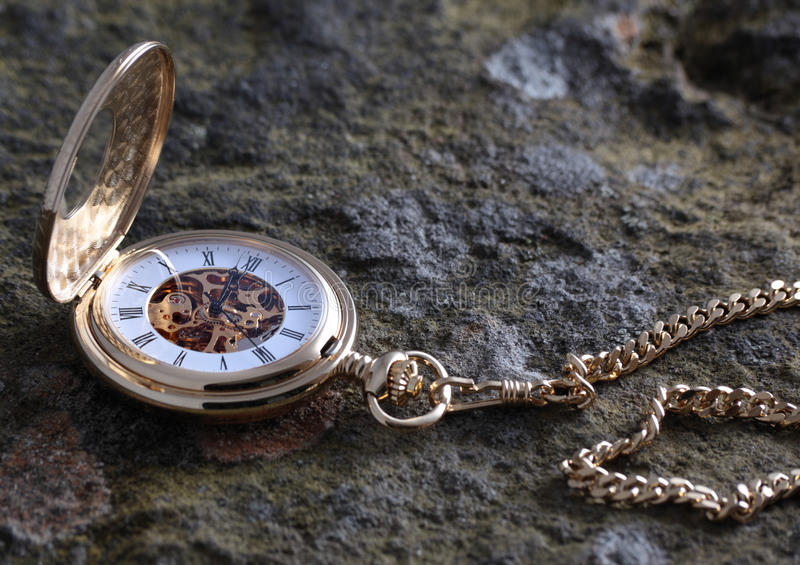 Download Gold pocket watch stock image. Image of nobody, close - 9420571