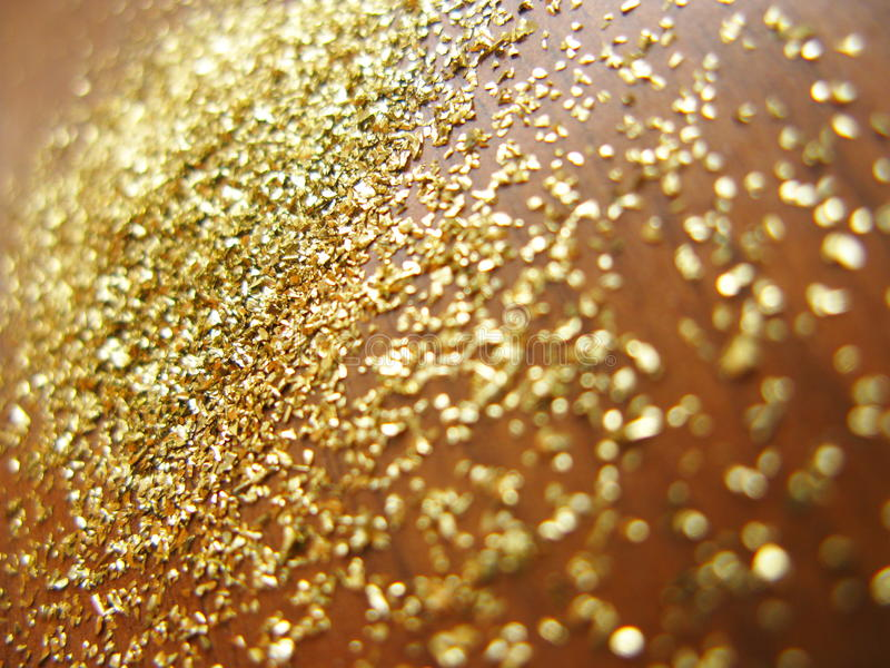 Gold Powder Royalty Free Stock Images