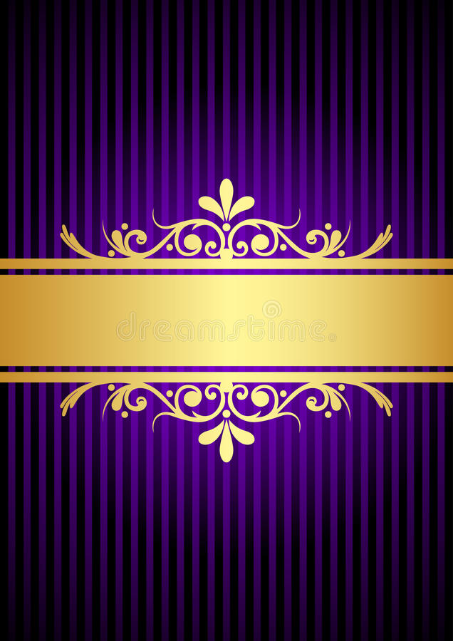 gold and purple background stock vector illustration of