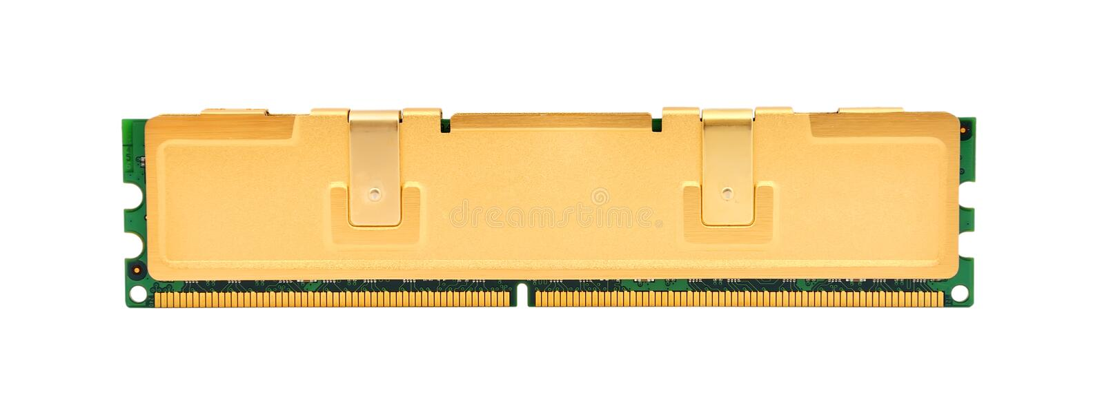 Download Gold ram stock photo. Image of byte, information, data - 25889520