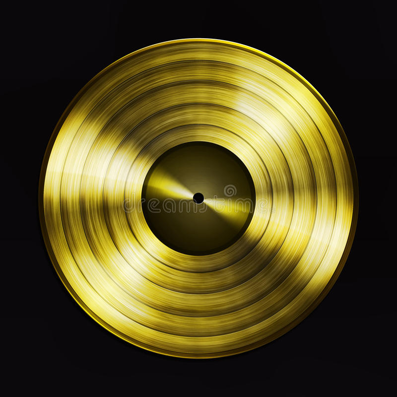 Gold Record Stock Photography Image 16261112