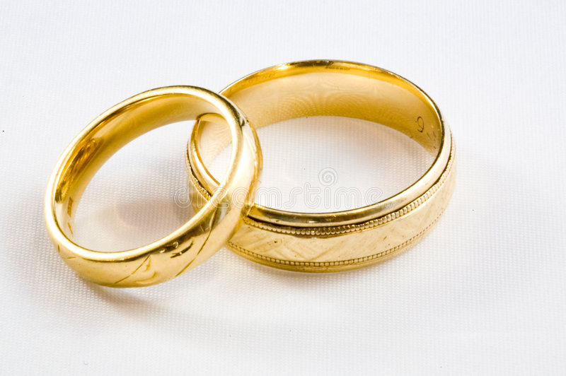 Download Gold Rings stock photo. Image of groom, bridal, bands - 4945488
