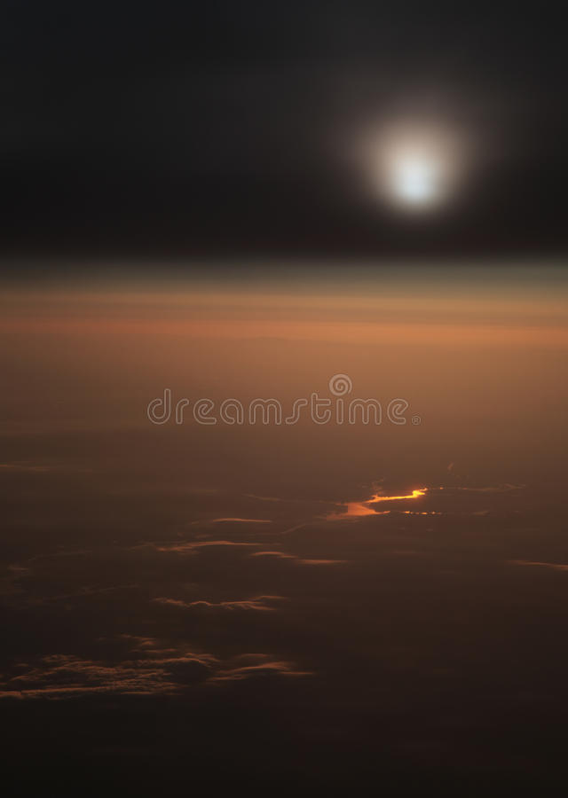 Free Gold River And Clouds Royalty Free Stock Photos - 10053338