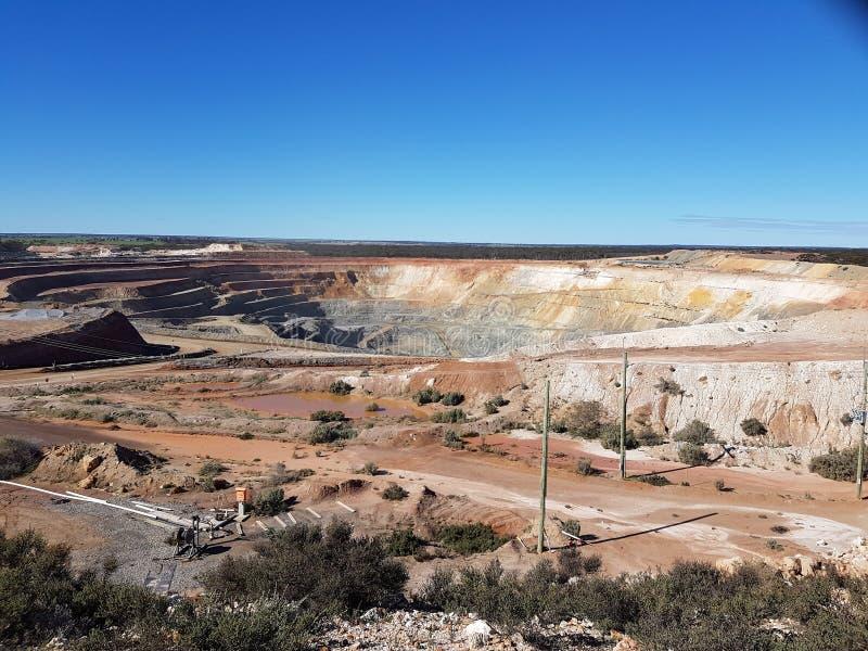 Gold Rush stock image