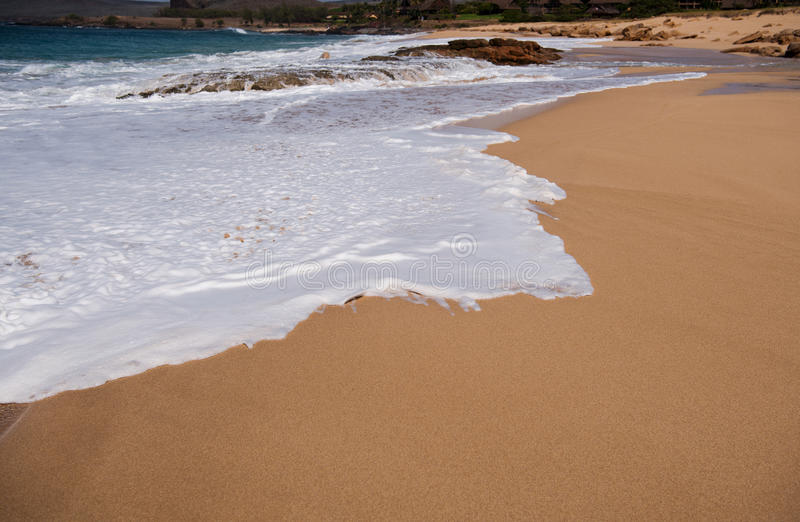 Download Gold-sanded Kepuhi Beach stock image. Image of beach - 83723953