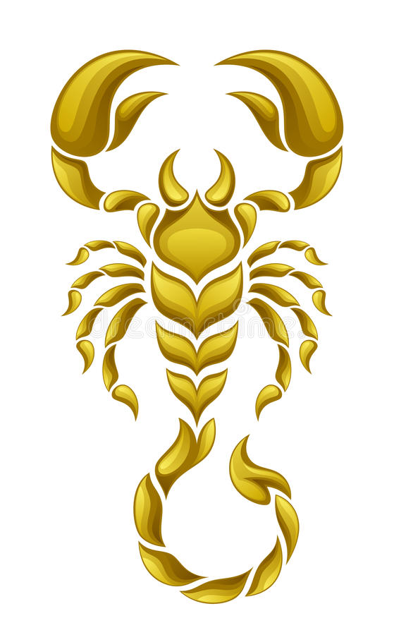 gold scorpion stock vector image 50783101 crawfish clip art free crawfish clipart pictures