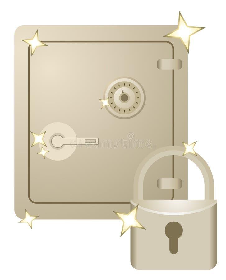 Download Gold security stock vector. Image of illustration, deposit - 24883210