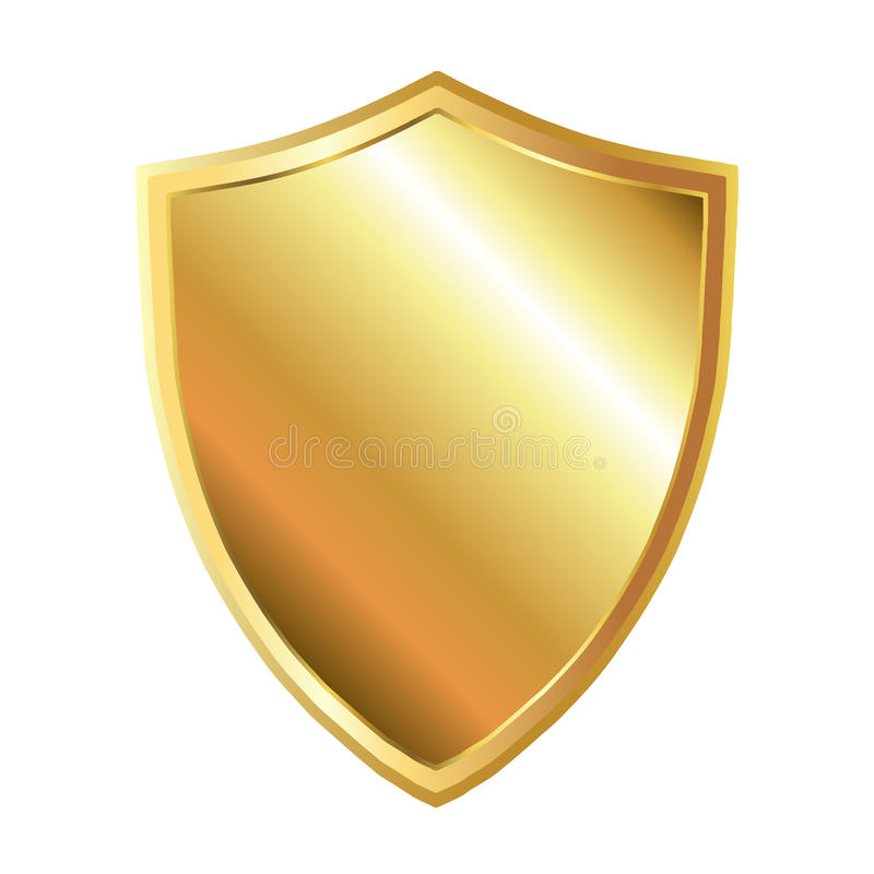 Free Gold Shield Royalty Free Stock Images - 30193699