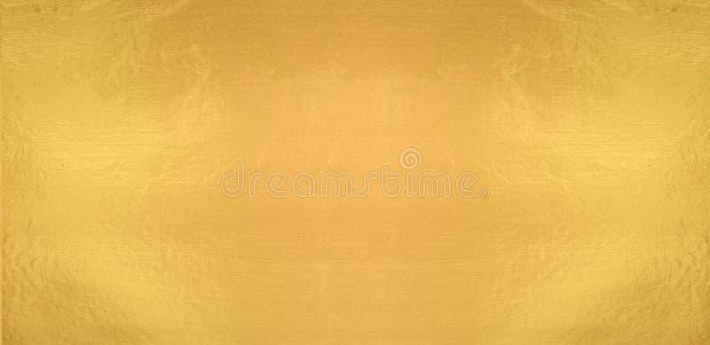 Gold shiny wall texture  horizontal background. Gold shiny wall texture  horizontal abstract background stock image