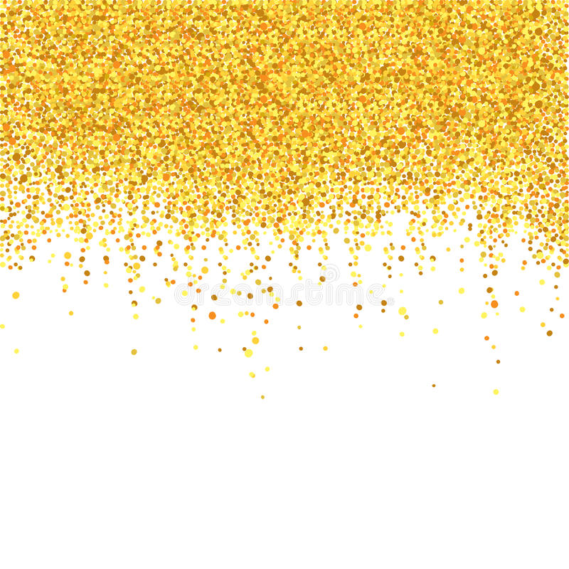 Download Gold shower stock vector. Image of congratulation, card - 83706168