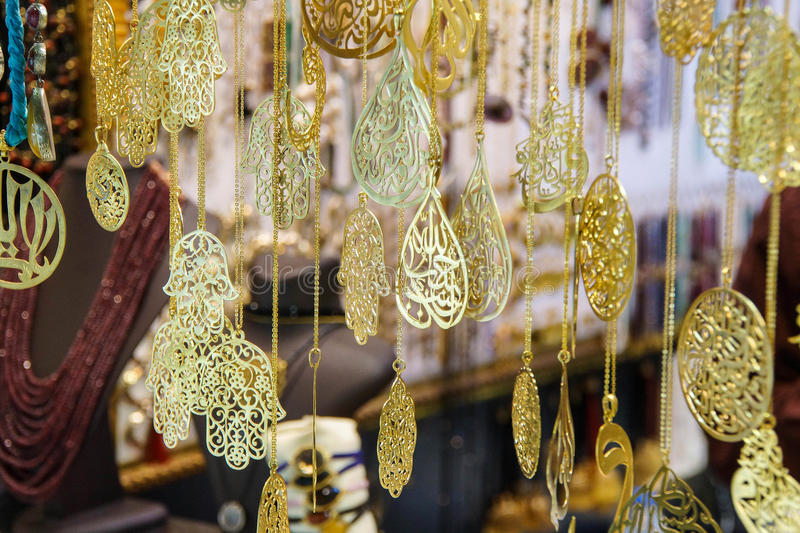 Gold and sikver jewelry stock photo Image of grand istanbul 46662444