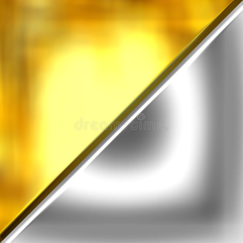 Gold and Silver vector illustration