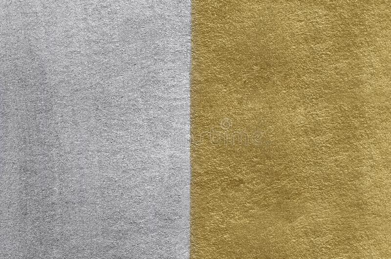 Gold and silver foil texture. Golden abstract background royalty free stock photography