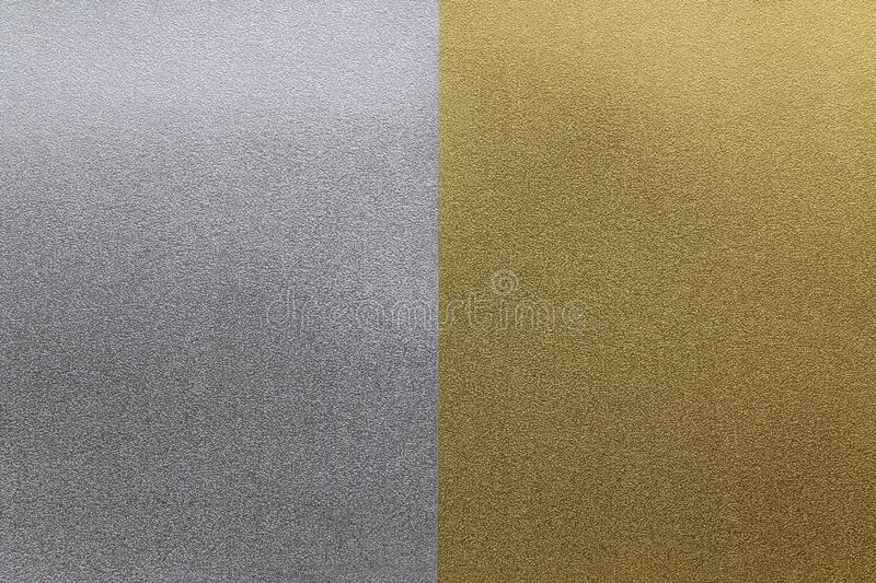 Gold silver paper texture background. Gold silver vintage paper texture background stock photography