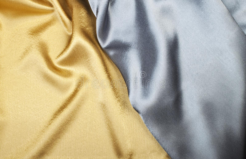 Download Gold and silver silk stock image. Image of background - 21145123