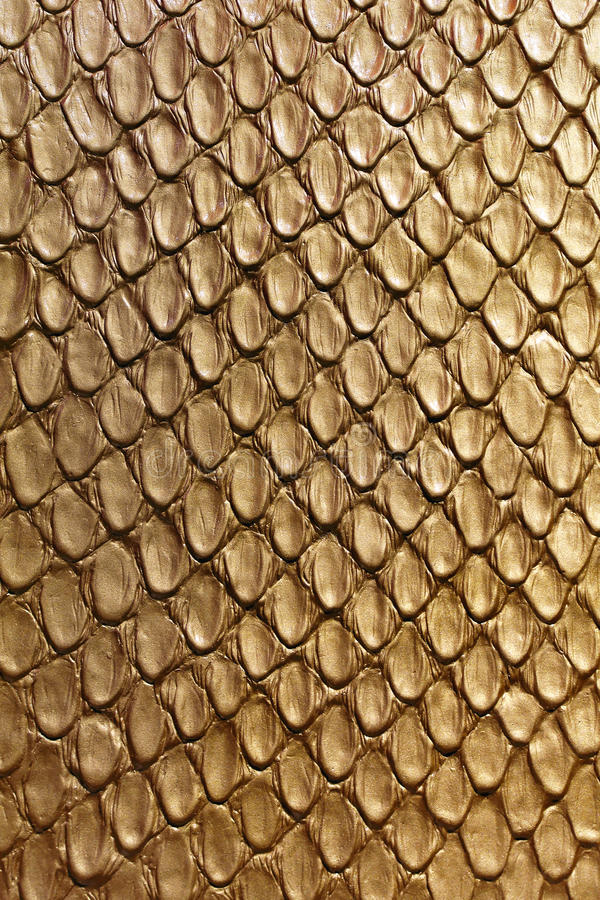 Gold snake texture. Modern gold snake skin leather texture royalty free stock photos