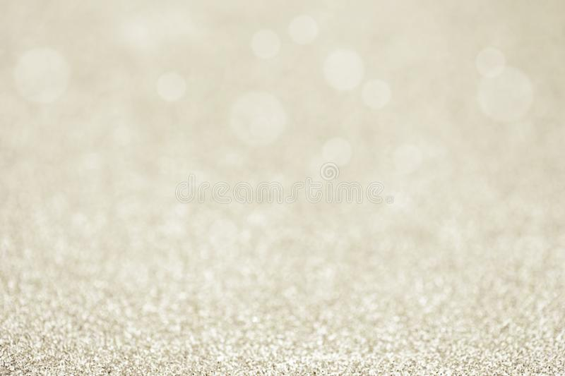 Gold sparkle glitter for Christmas background.  stock image