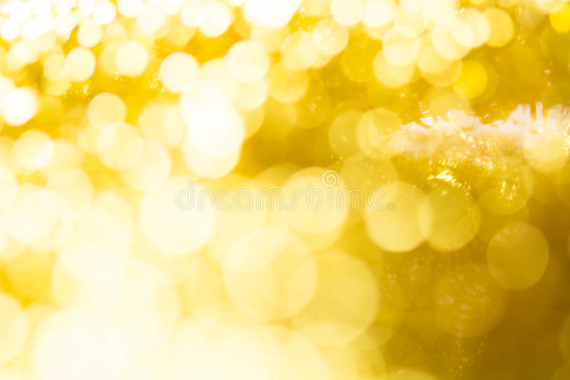 Gold spring or summer, Christmas Glittering background.Holiday a. Bstract texture stock image