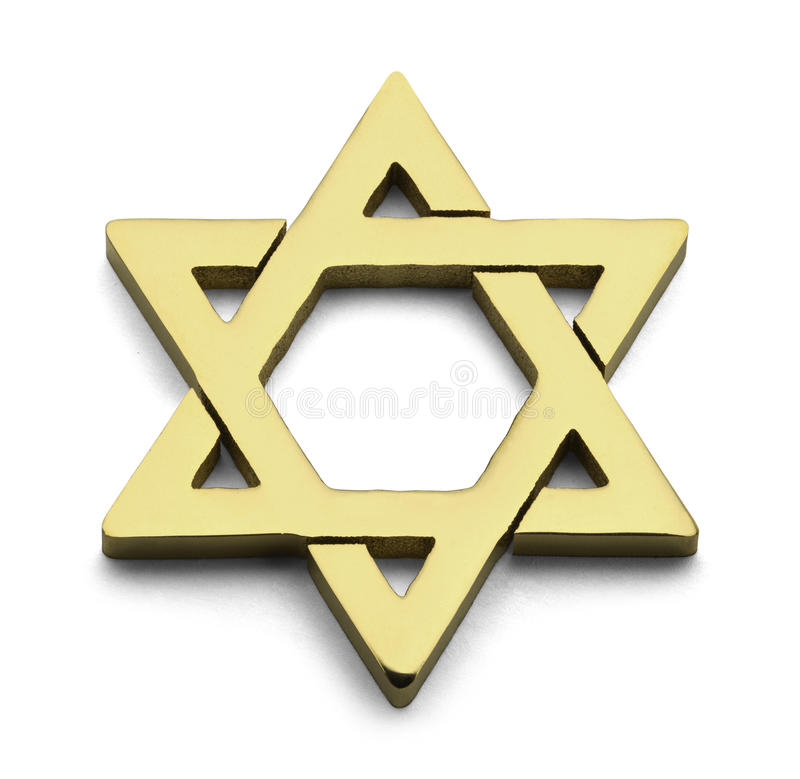 Free Gold Star Of David Stock Images - 73344224