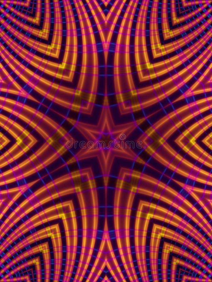 Download Gold Star Stripes Pattern stock illustration. Image of mask - 1924383