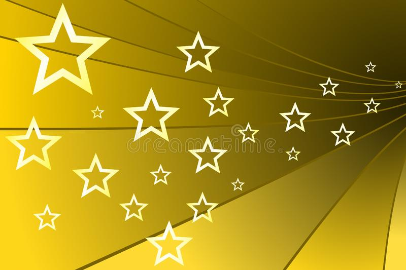 Gold Stars stock images