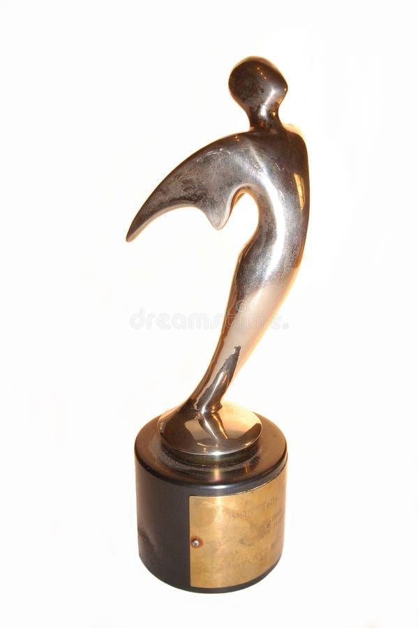 Gold Telly award royalty free stock image