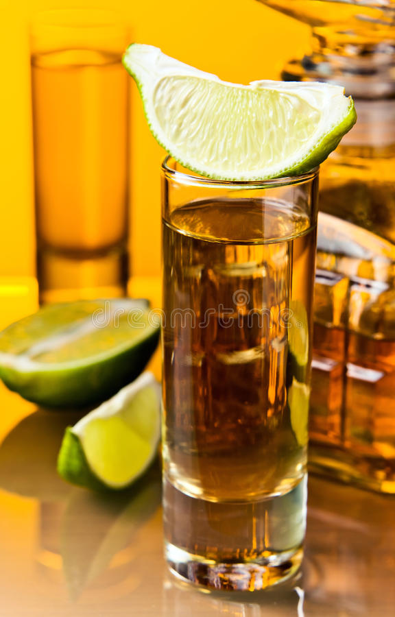 Download Gold tequila stock photo. Image of green, cool, gold - 27230494
