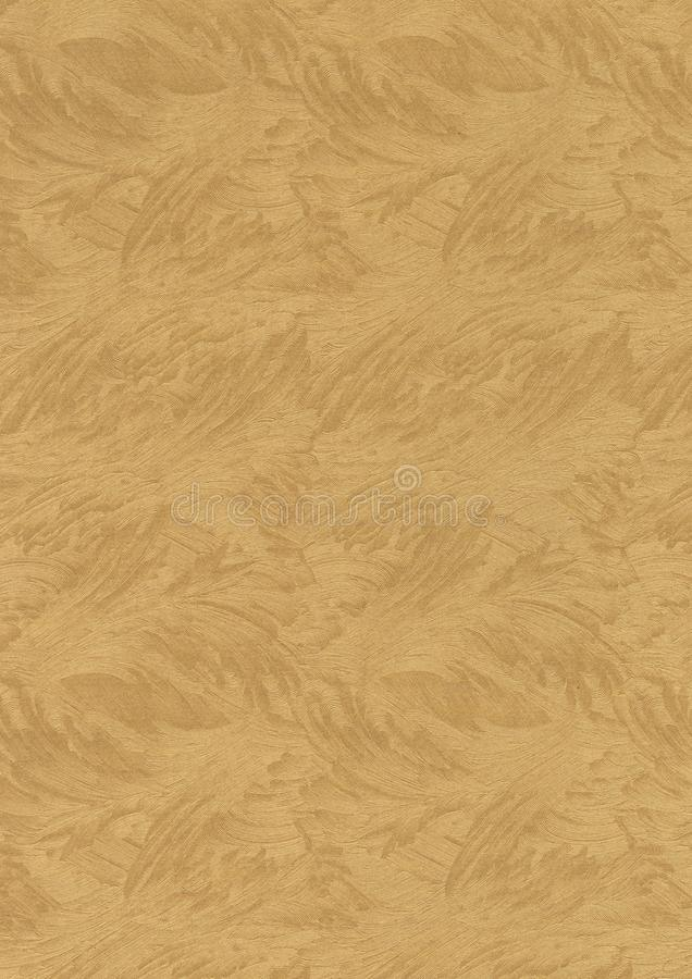 Gold texture. Gold background. Abstract background. Background with patterns. Paper for creativity. Gold wallpaper. Yellow backgro stock photo