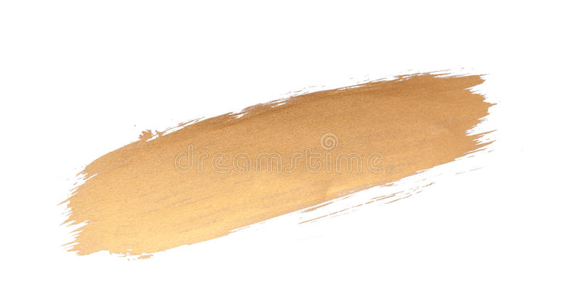gold texture brush stroke design stock image