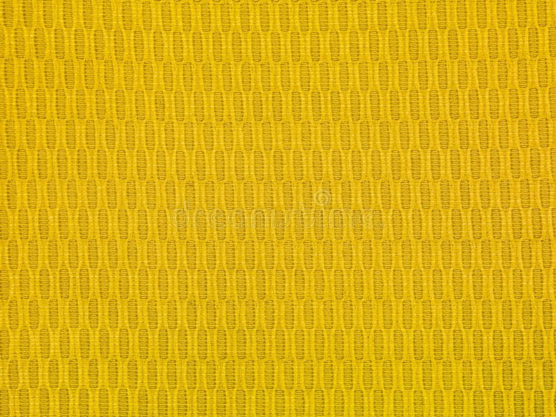 Gold texture fabric background. Close up stock photo