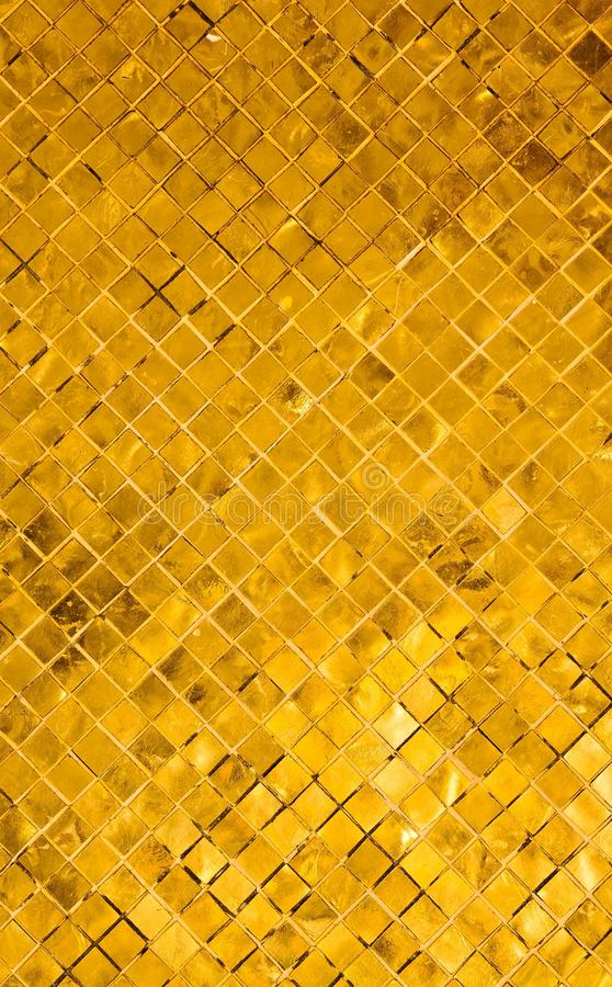 Gold Tile Background Royalty Free Stock Images Image