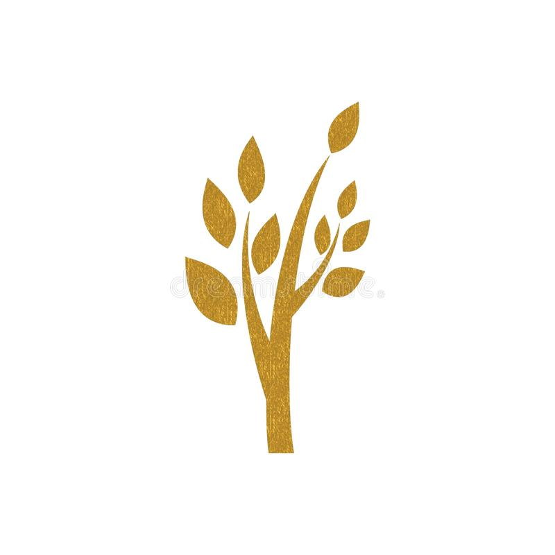 Free Gold Tree Shape Royalty Free Stock Image - 16927136