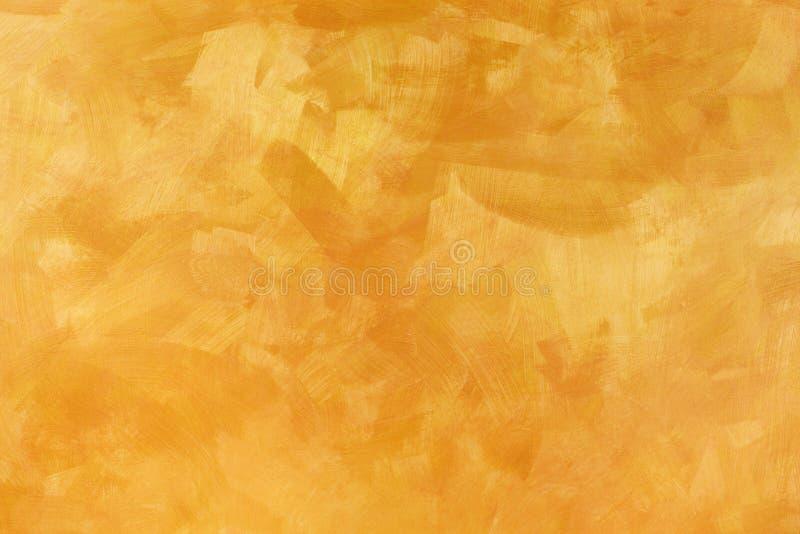Gold u. Kupfer gemalter Hintergrund stockfotos