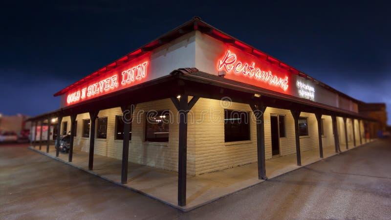 Gold-und Silber-Gasthaus Reno stockfoto
