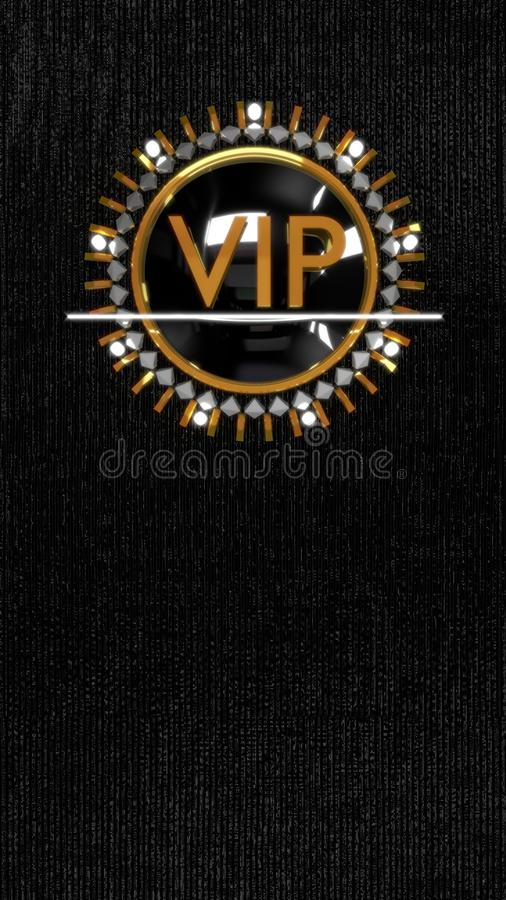 Gold VIP stock images