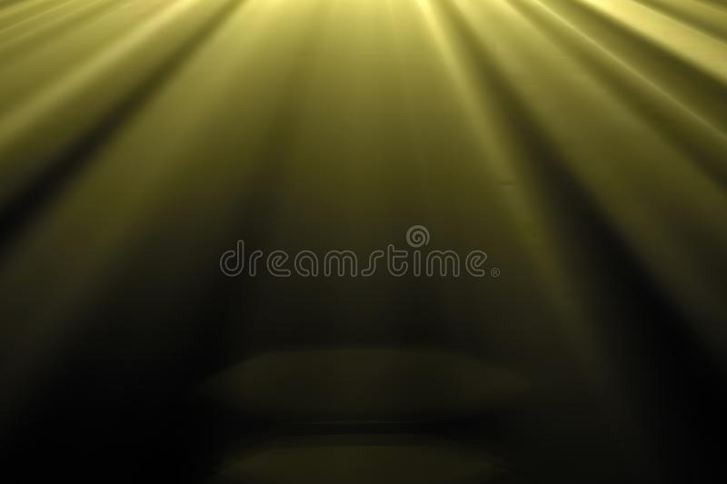Gold warm color bright lens flare rays flashes leak for transitions on black background, for movie titles. Gold warm color bright lens flare rays flashes leak stock images