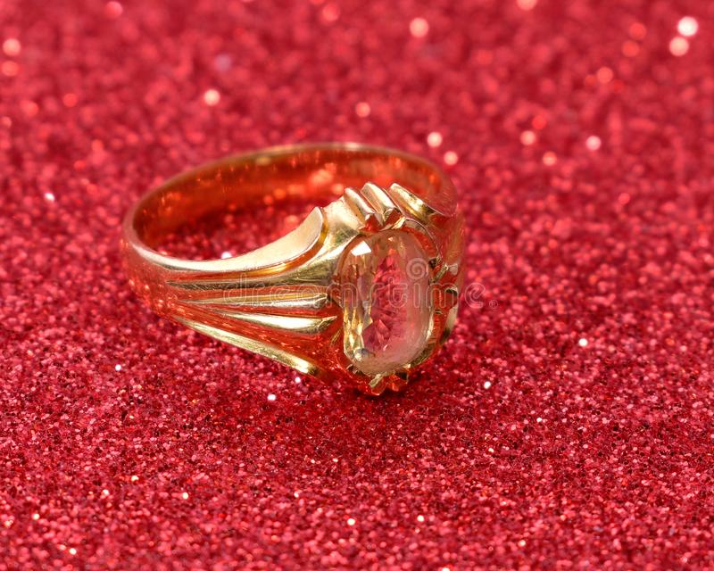 GOLD WEDDING RING. Weddingring groom groomring stock images