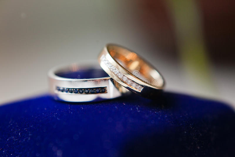 Download Gold wedding rings stock photo. Image of lacy, jewelry - 28335880