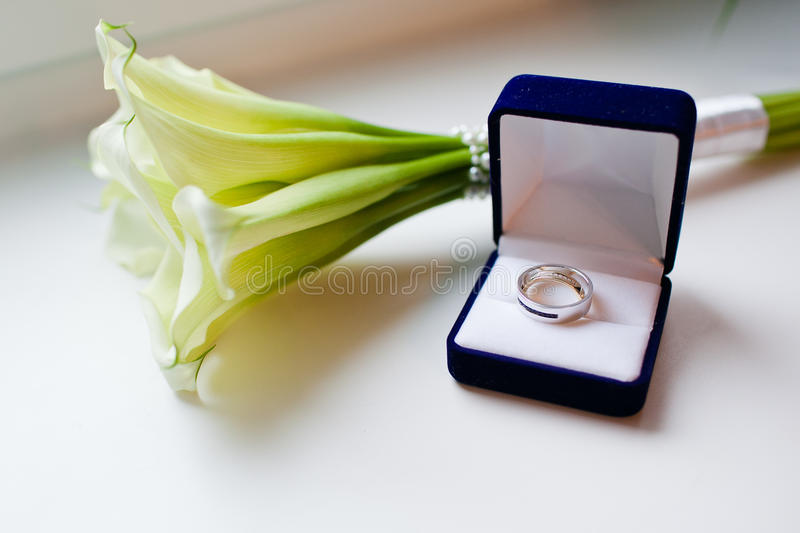 Download Gold wedding rings stock image. Image of marry, ring - 28335929