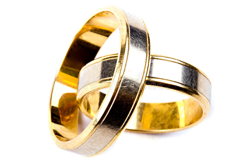 Download Gold Wedding Rings Close Up Stock Photo - Image: 24780466