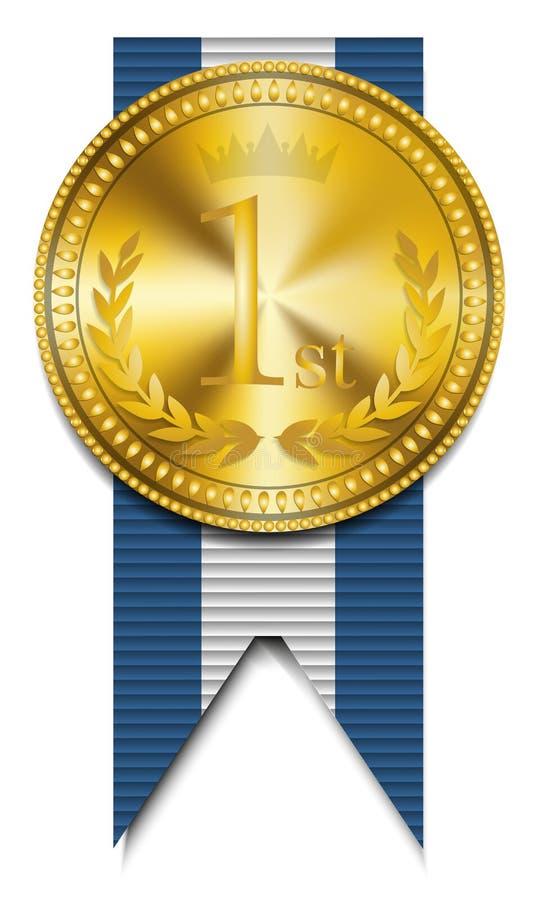 Gold Winner Medal Stock Photography