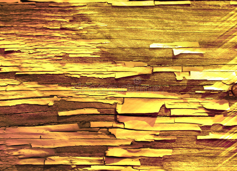 Gold wooden background stock image