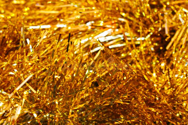 Gold and yellow bokeh background christmas. Object royalty free stock photo