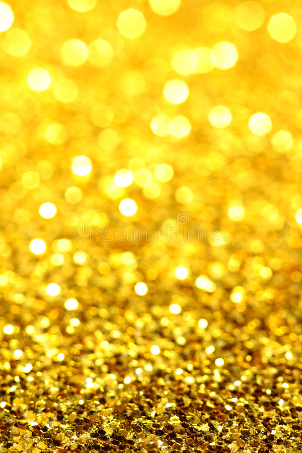 Gold Yellow Glitter Stock Images Image 33686284