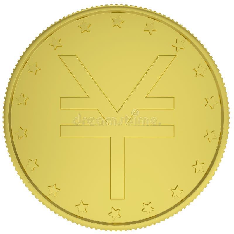 Download Gold yen stock illustration. Illustration of business - 36164241